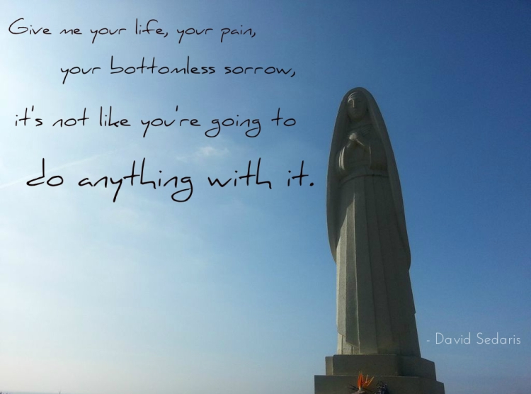bottomless sorrow