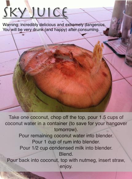 Sky Juice Recipe